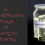 4 Time-Efficient Ways of Giving to Charity